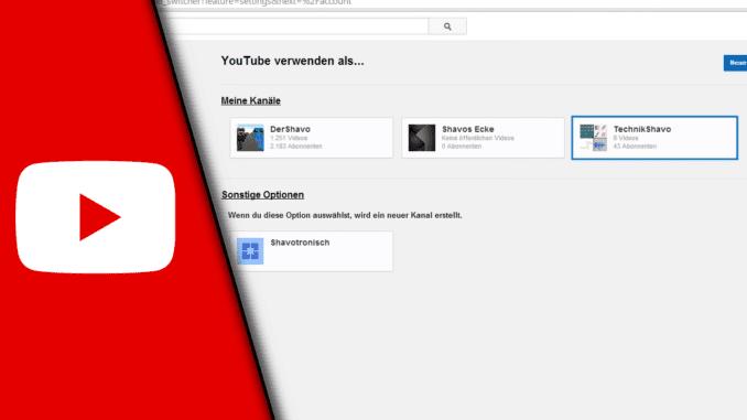 Youtube Kanal erstellen 2015