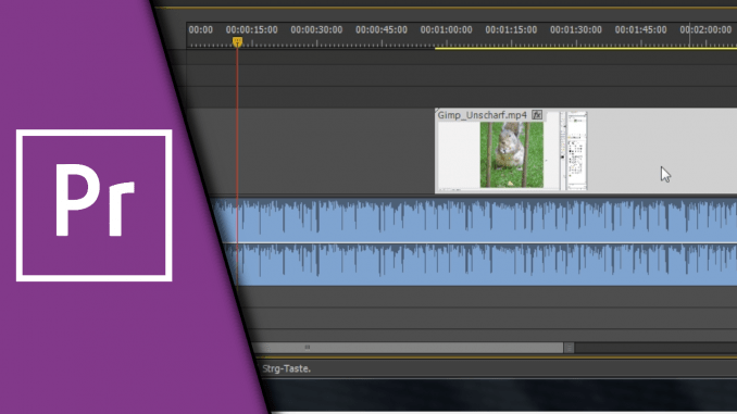 Adobe Premiere Audio von Video trennen
