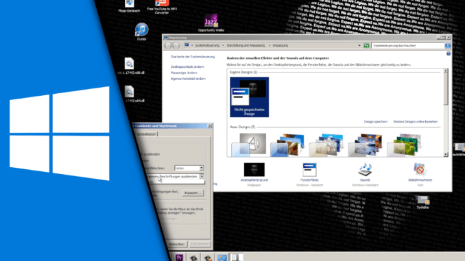 Windows 7 altes Design