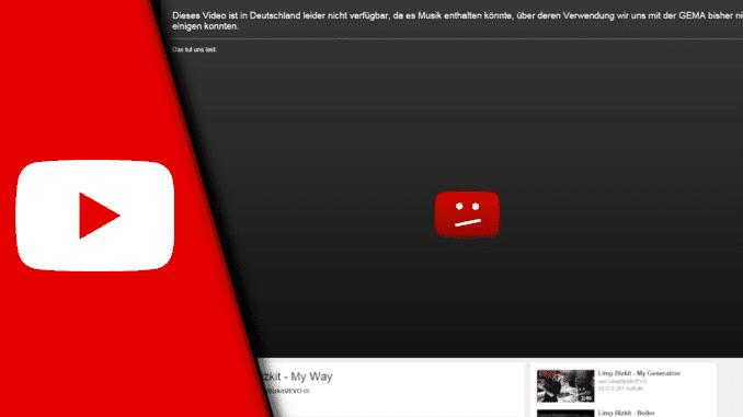 GEMA Youtube umgehen