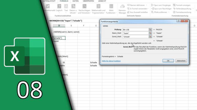 Excel Logikfunktionen