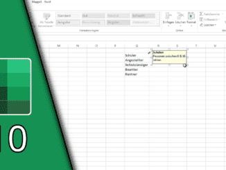 Excel Blattschutz