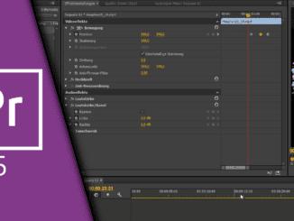 Adobe Premiere Keyframes
