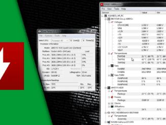 CPU Temperatur auslesen + GPU Temperatur