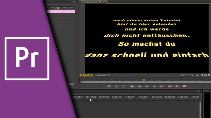 Adobe Premiere Star Wars Intro