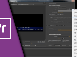 Premiere Pro transparentes Video