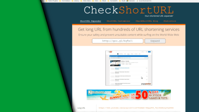 Shortlink Checker