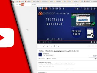 Youtube Abspann