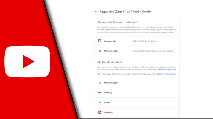 Zugriff auf Google Konto