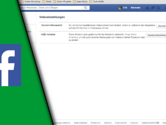 Facebook Autoplay deaktivieren