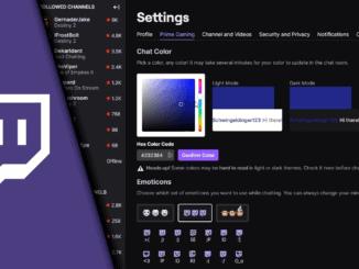 Twitch Chat Farbe ändern