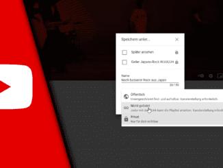 Youtube Playlist erstellen ohne Kanal