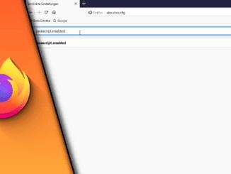 JavaScript aktivieren Firefox