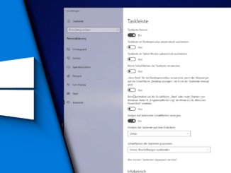Windows 10 Taskleiste ausblenden