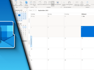 Outlook Kalenderwoche anzeigen